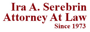 criminal defense attorney ira a serebrin logo