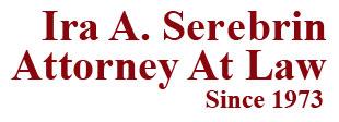 criminal defense attorney ira a serebrin logo